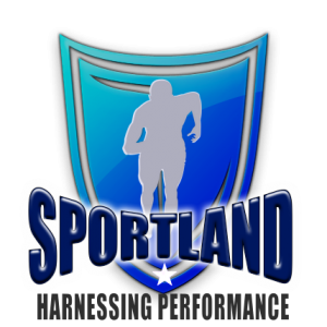 Shows sam portland strength and conditioning coach logo