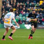 Will Davis Professional Rugby Player Northampton Saints Rugby